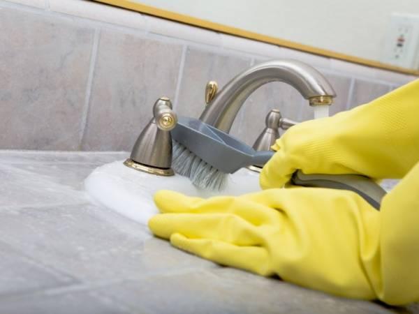 Reiniging sanitaire ruimte